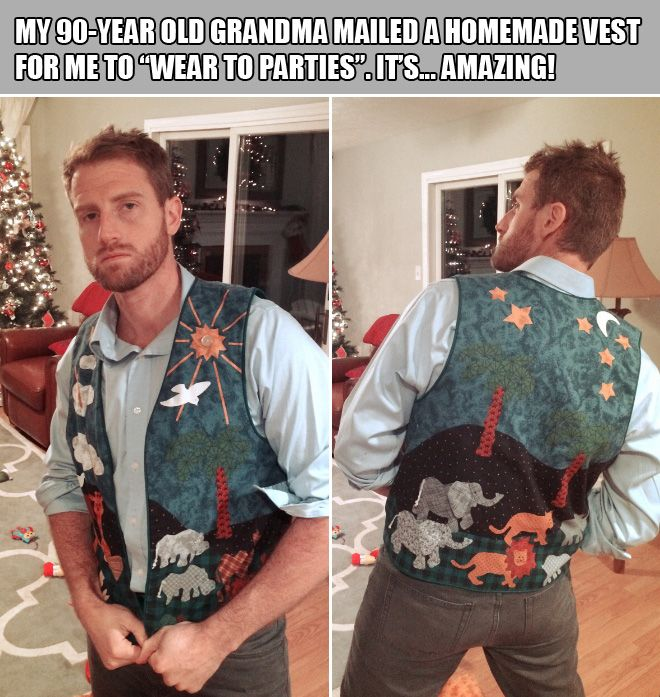 Grandmas give the best presents! - Imgur