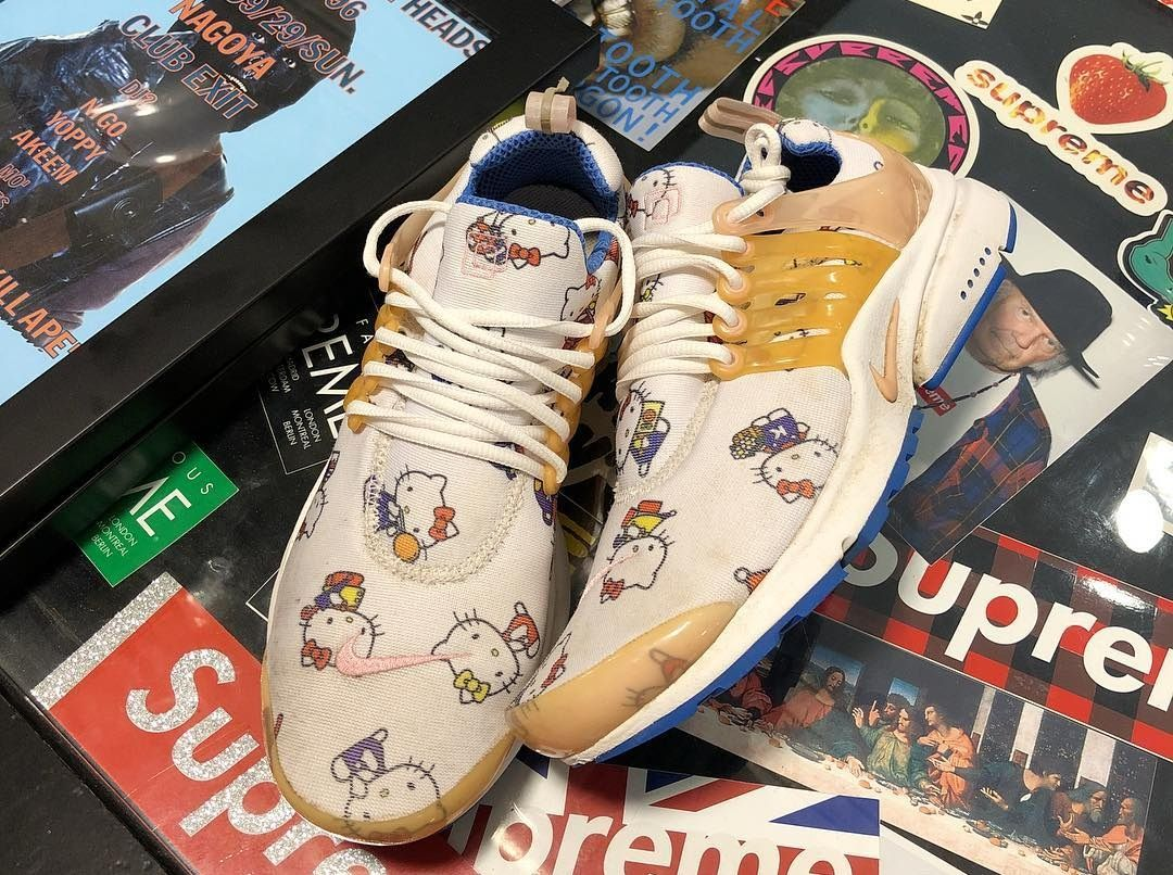 a7050cddcf52 Nike x Hello Kitty Air Presto (Friends and Family)