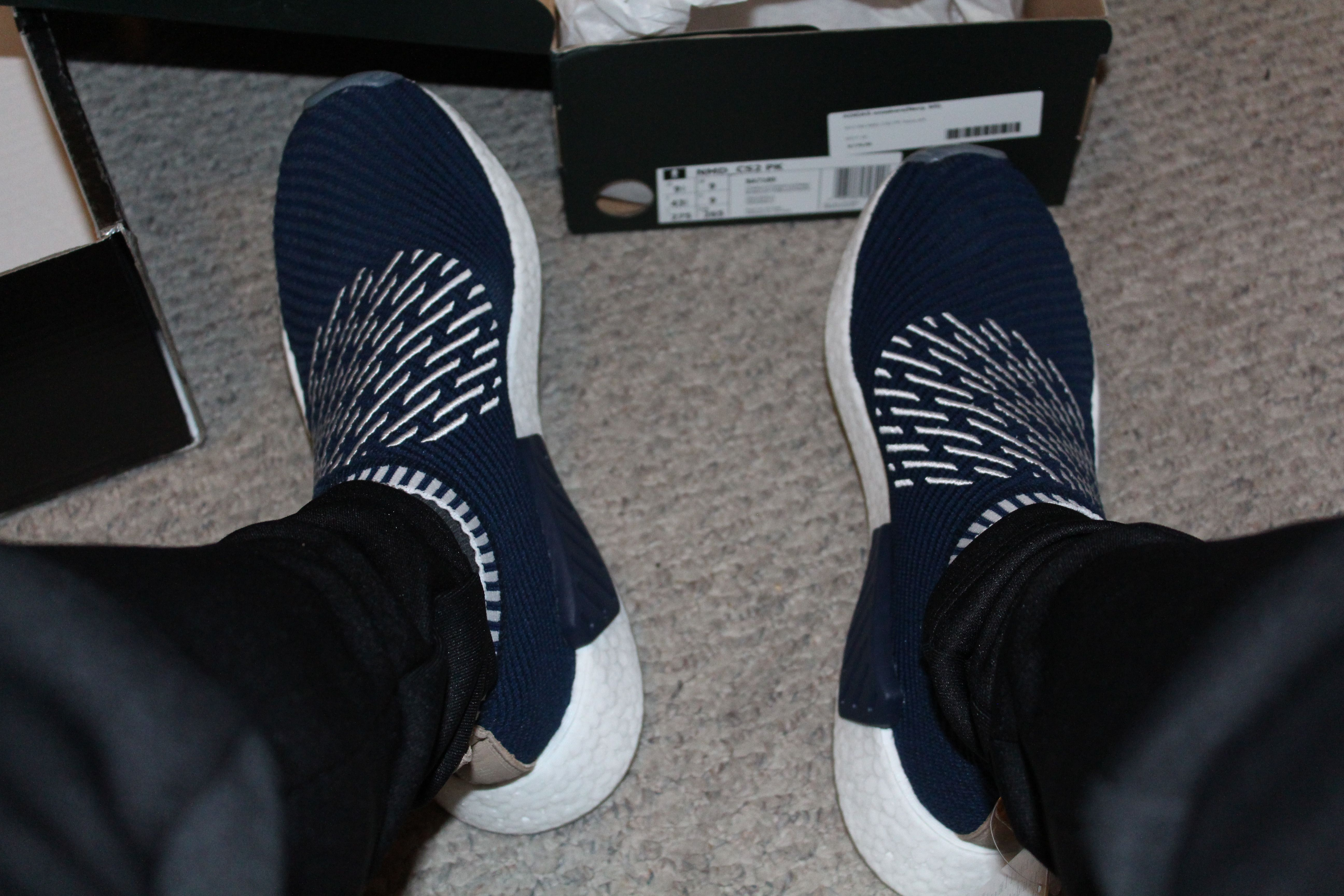 68011fa2a9 [Pickup] Rogue Samurai NMD's first pair of city socks Nmd, Nike Sneakers,