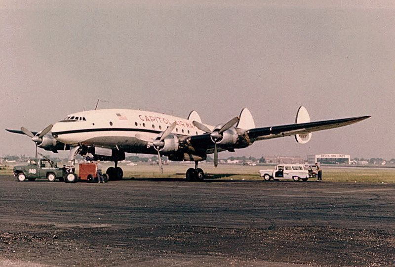 Chicago Midway Airport - Capitol Airways -L-749A (Jun59)