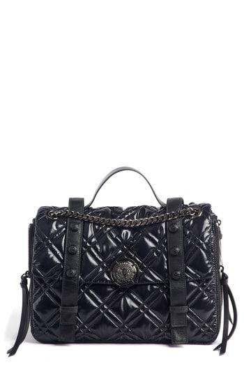 0812d28e Balmain Quilted Faux Leather Shoulder Bag | On-Trend Shoulder Bags ...