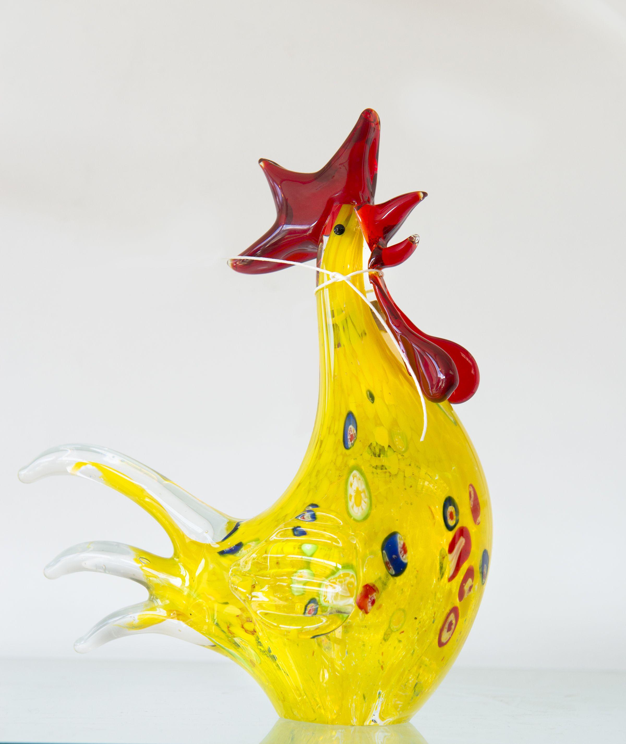 murano glass rooster | Murano Glass | Pinterest | Murano glass ...