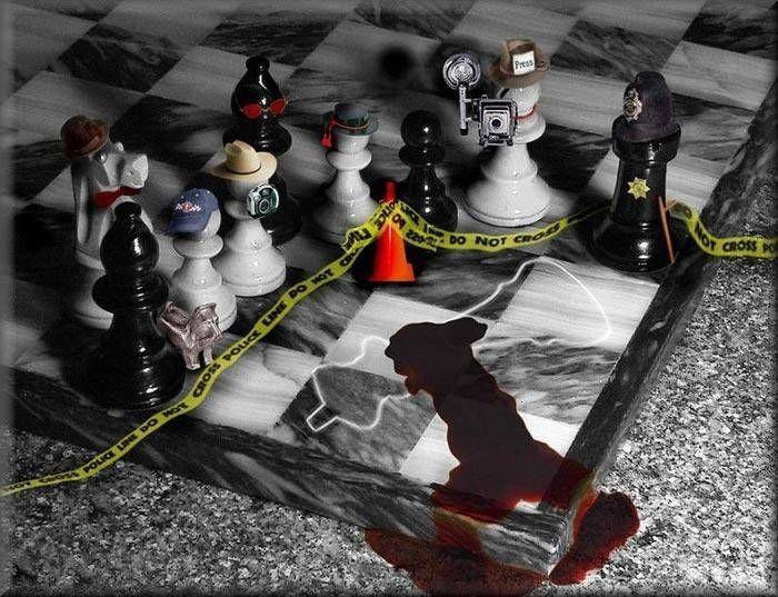 Criminologia Xadrez Jogo Pecas De Xadrez Fotos