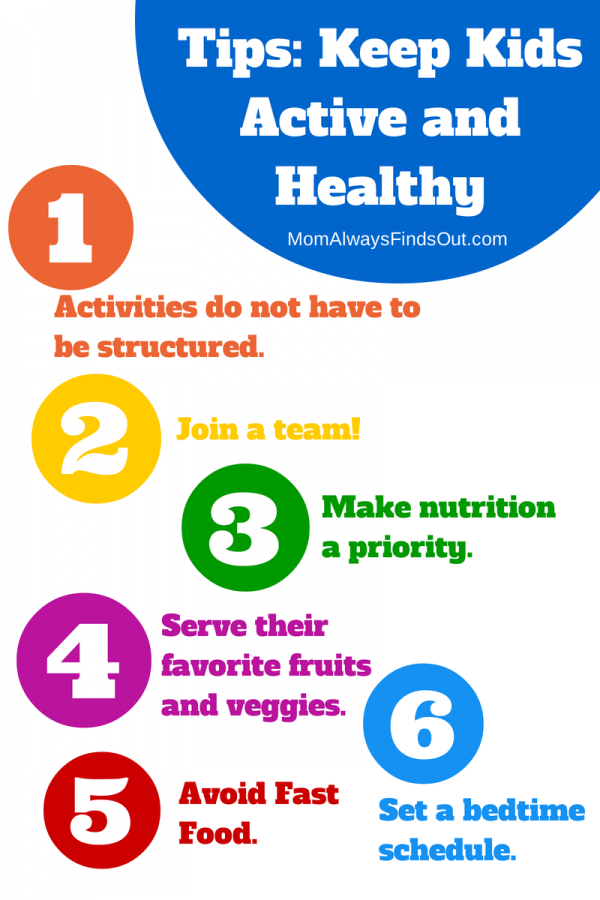 Healthy Kids Tips: Ways To Stay Active And Healthy