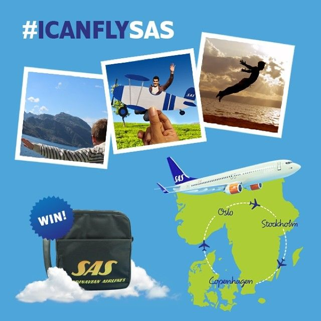 Can You Fly Share Your Most Creative Shot With Icanflysas For A Chance To Win A Scandinavian Adventur Sas Airlines Scandinavian Airlines System Creative Shot