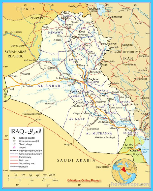 nice Map of Iraq | Travelsmaps in 2019 | Map, United nations