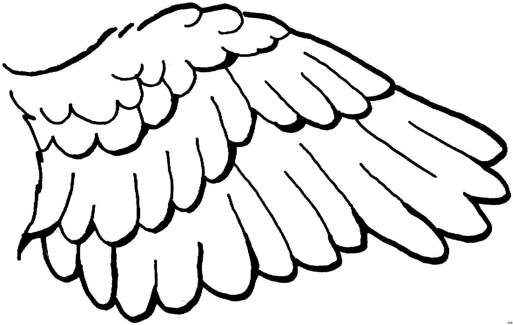 Malvorlagen Engelsflugel Kostenlos