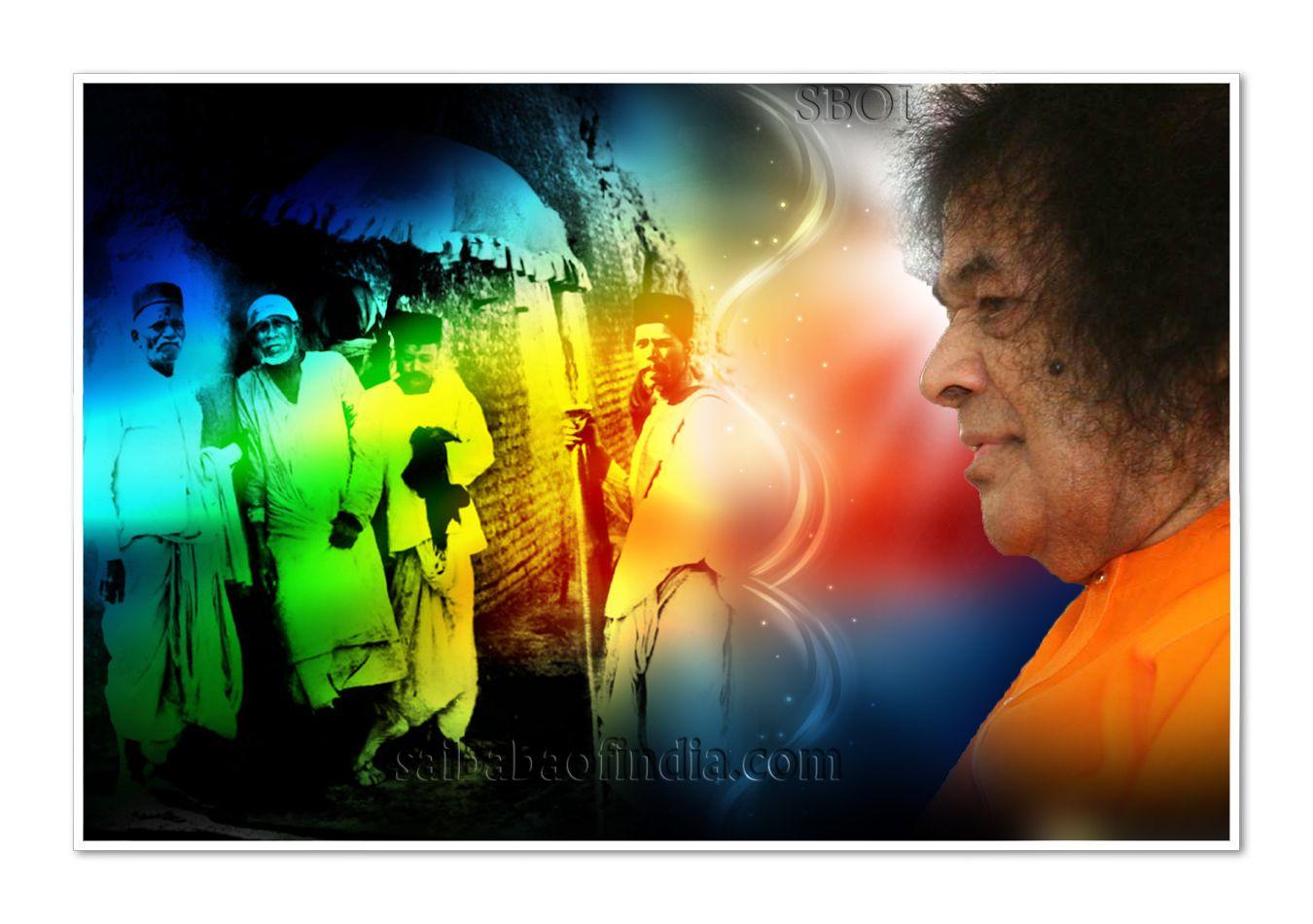 Sri Sathya Sai Baba Sri Shirdi Sai Baba Sathya sai