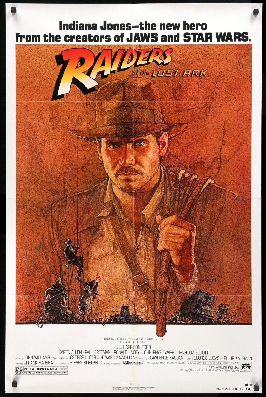 Raiders Of The Lost Ark 1981 Indiana Jones Blockbuster Movies Movie Posters
