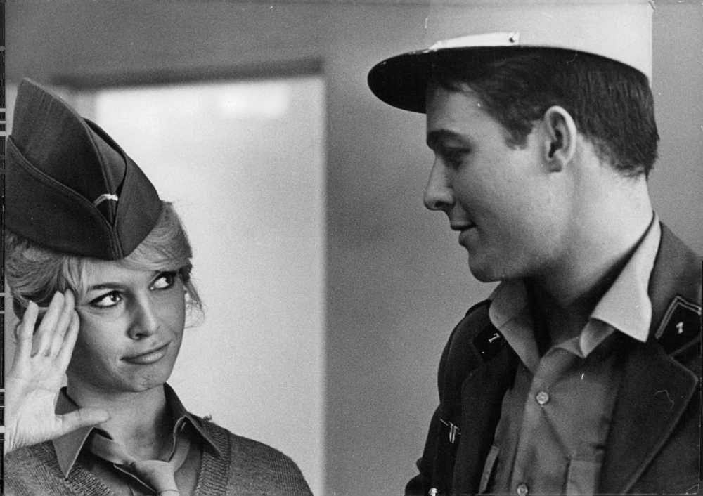 Brigitte Bardot & Jacques Charrier