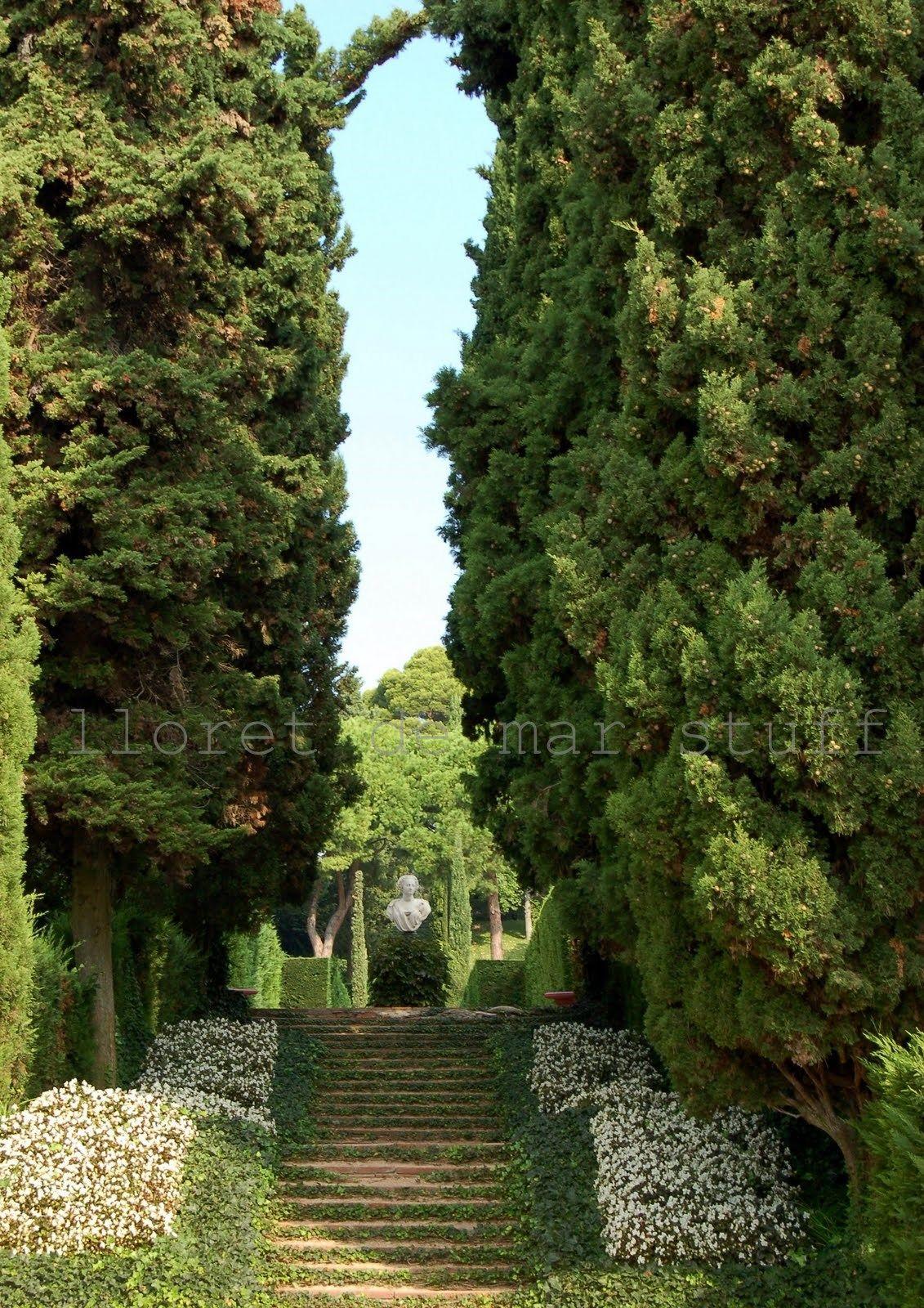 Jardin santa clotilde lloret de mar girona catalonia for Jardines de santa clotilde