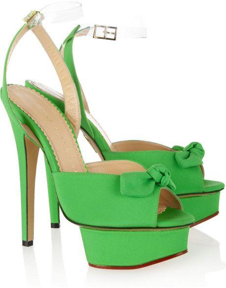 bc8254f82d91 Women s Green Serena Crepe De Chine Platform Sandals