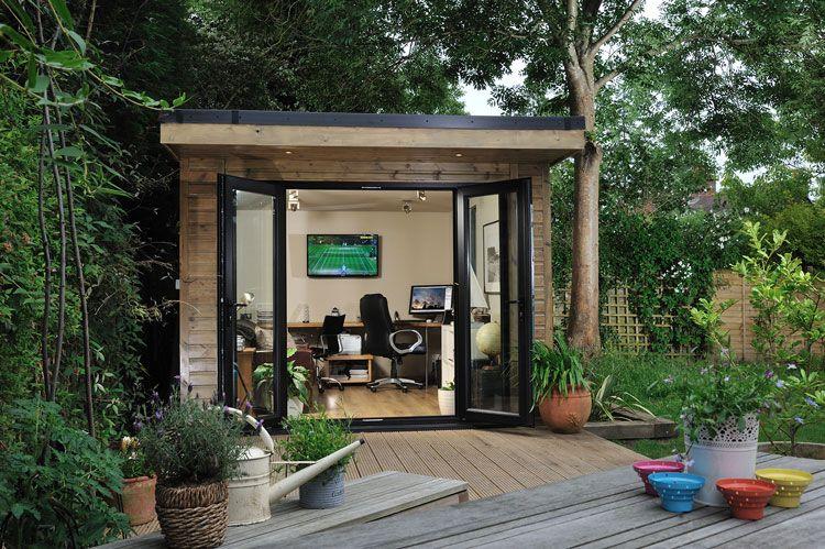 Garden Room Interior Design Ideas Part - 16: A Garden Office And Outdoor Living Room - Contemporary Garden Rooms By  Harrison James