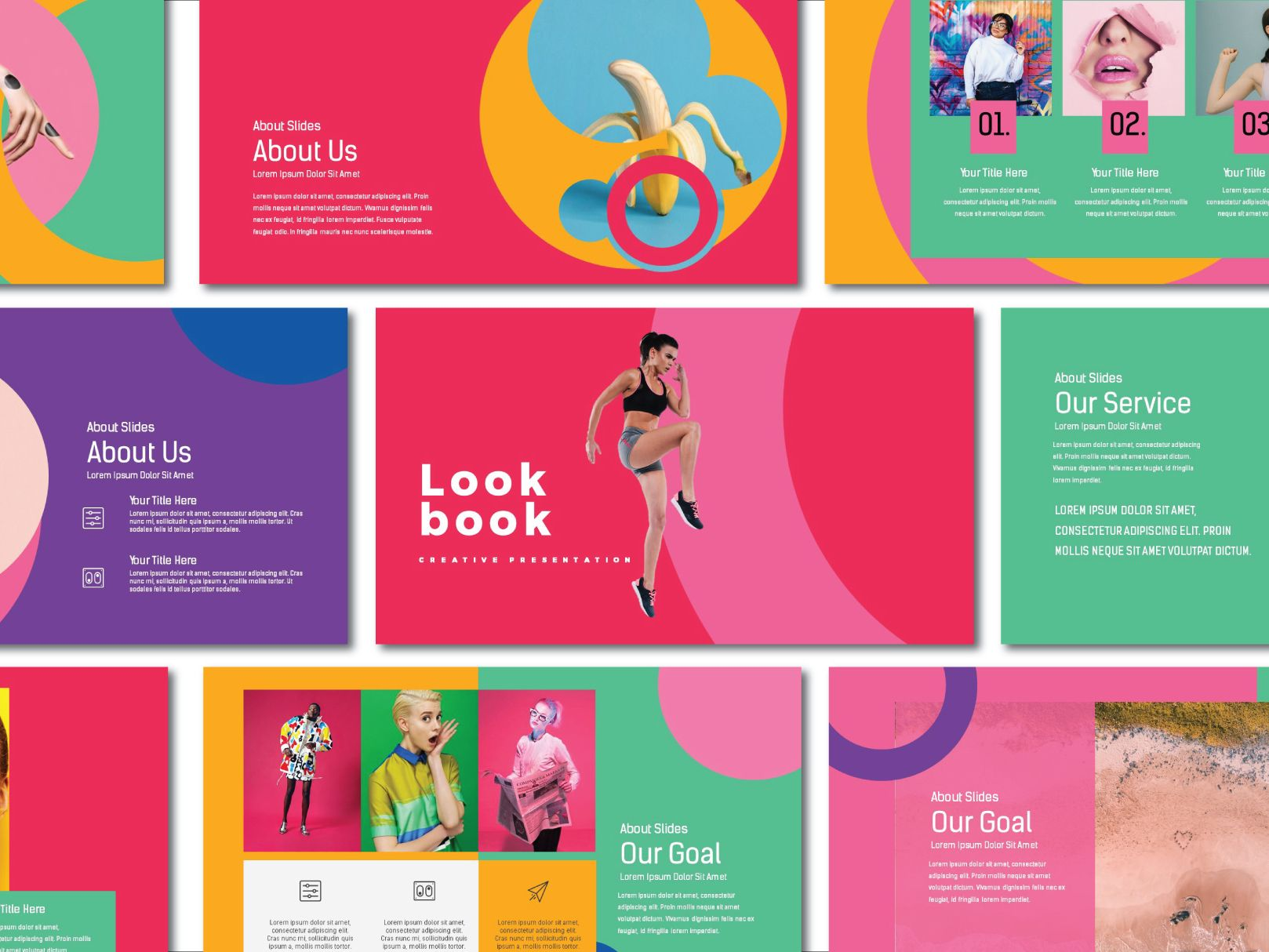 Lookbook Pastel Presentation Template is part of Free keynote template, Presentation design template, Keynote template, Presentation template free, Presentation templates, Presentation - Presentation is a creative Presentation that is beautifully designed and functional  This presentation template is so versatile that it can be used in many different businesses or creative project
