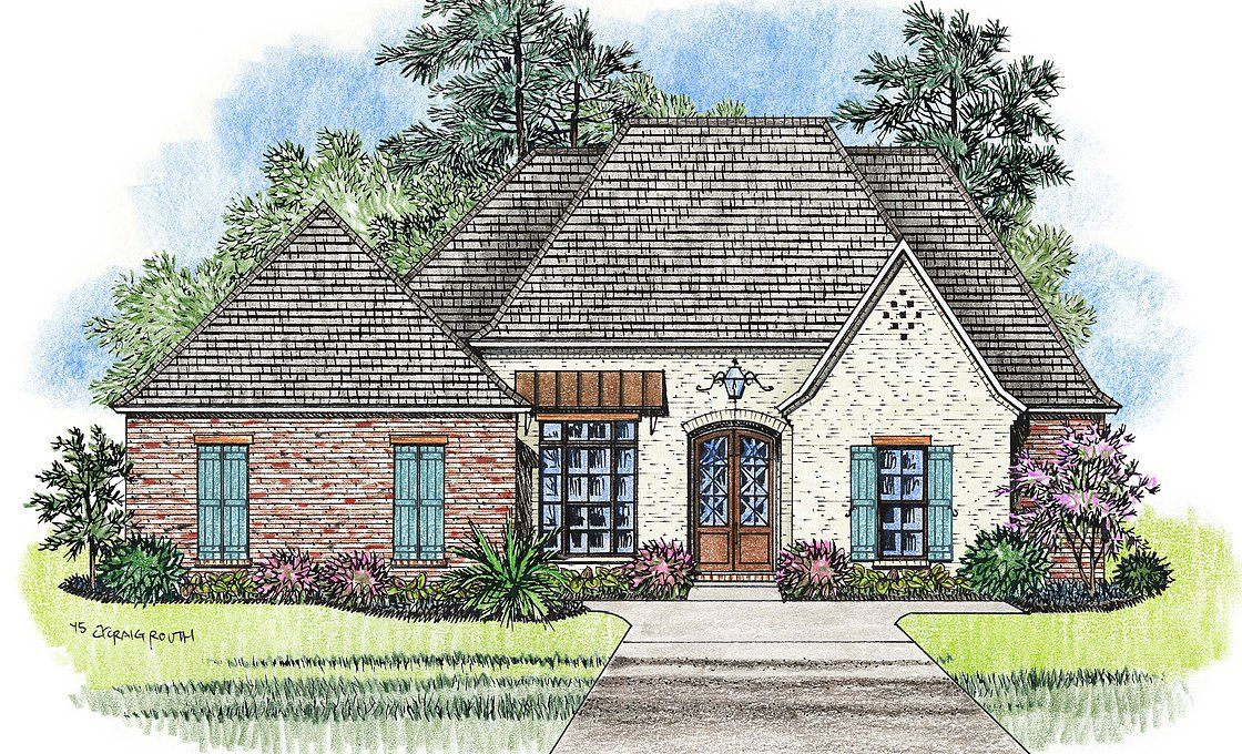 Madden Home Design French Country House Plans Acadian House Plans Acadian House Plans French Country House Plans Madden Home Design