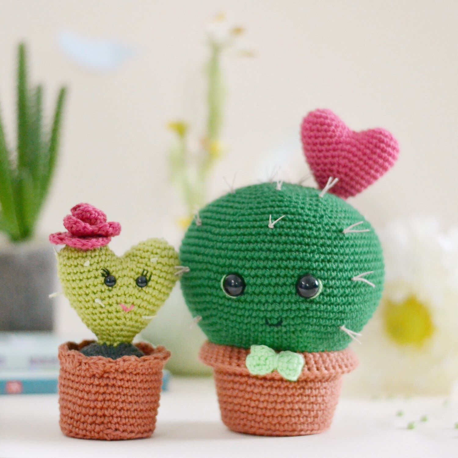 12 Crochet Cactus Tutorial - Creative Ideas (With images ... | 1500x1500
