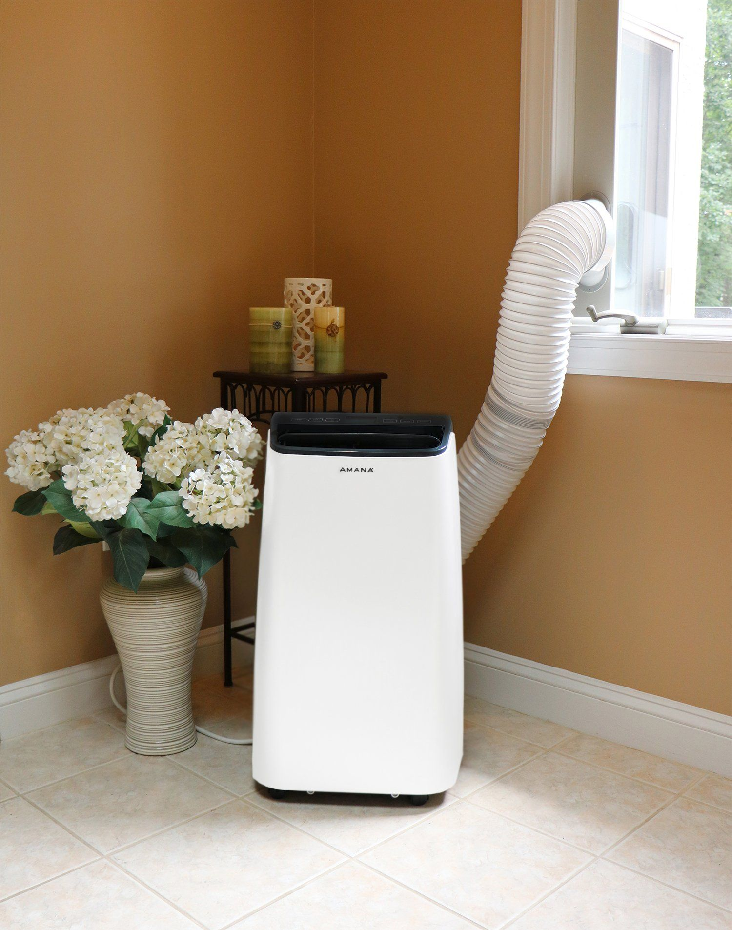 Amana AMAP121AB Portable Air Conditioner with Remote