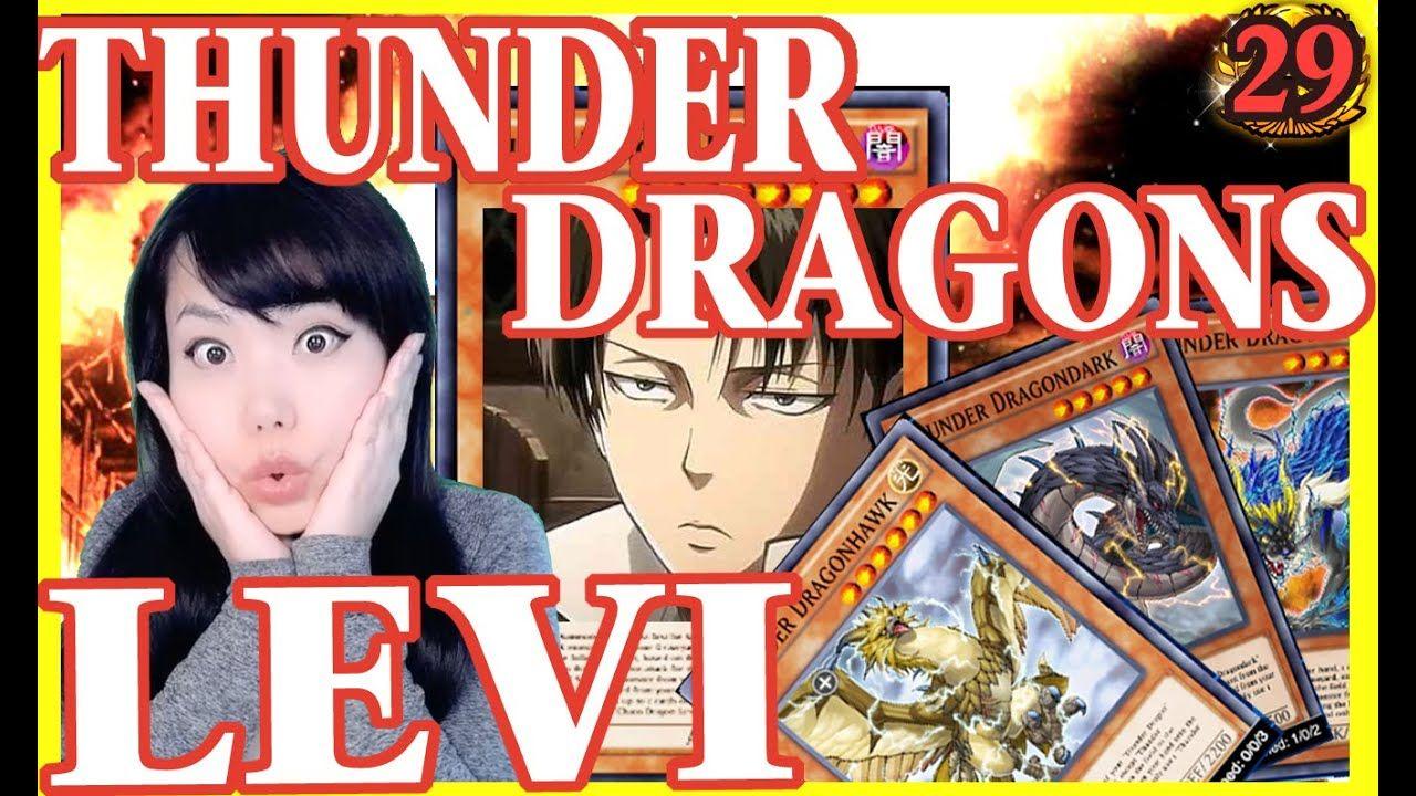 Yugioh Duel links Thunder Dragon Levi Deck Explanation