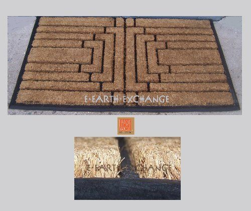 Frank Lloyd Wright Gillin House Doormat 36x22 Natural Coir By E Earth Exchange 39 95 Authorized The Foundation