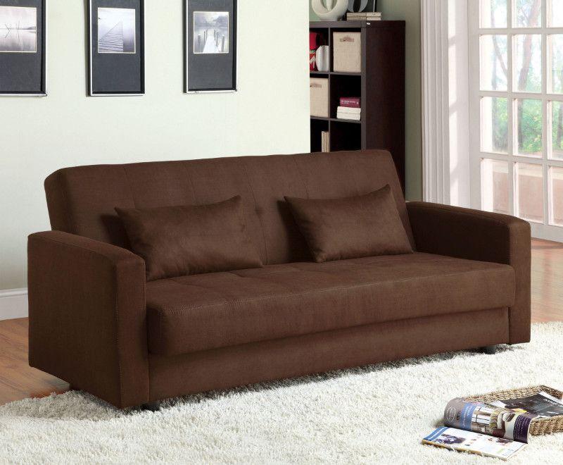 Microfiber Futon Sofa Bed