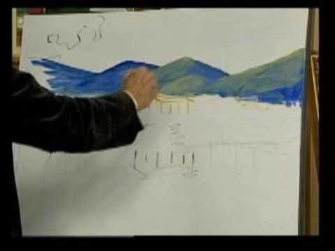 Pintura Em Tela Parte 01 02 Youtube Videos De Pintura