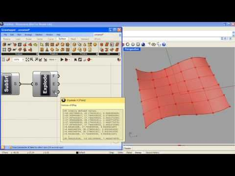 Tri Panel System With Grasshopper Youtube Grasshopper Panel Systems Parametric Design
