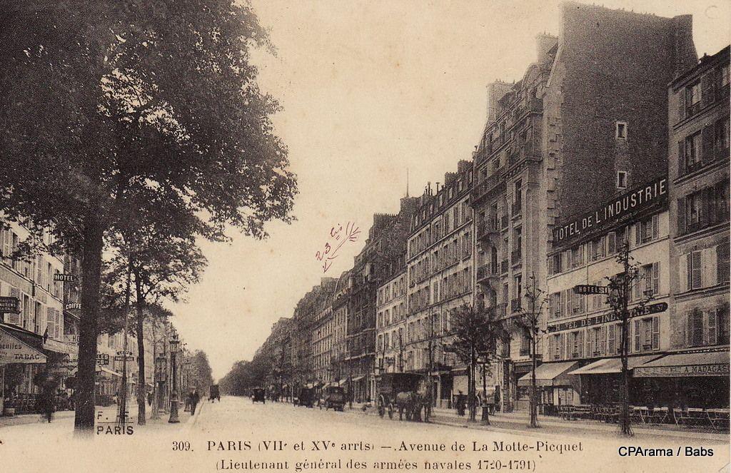 Avenue De La Motte Piquet Vieux Paris Vieilles Photos Et Paris