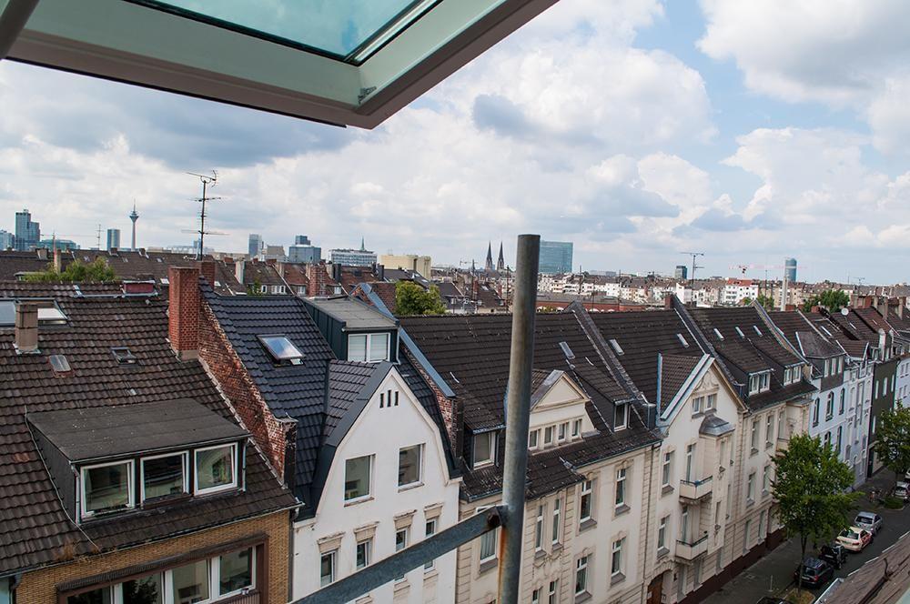 Ausblick Uber Dusseldorf Mit Bildern Maisonette Wohnung Dusseldorf Ausblick