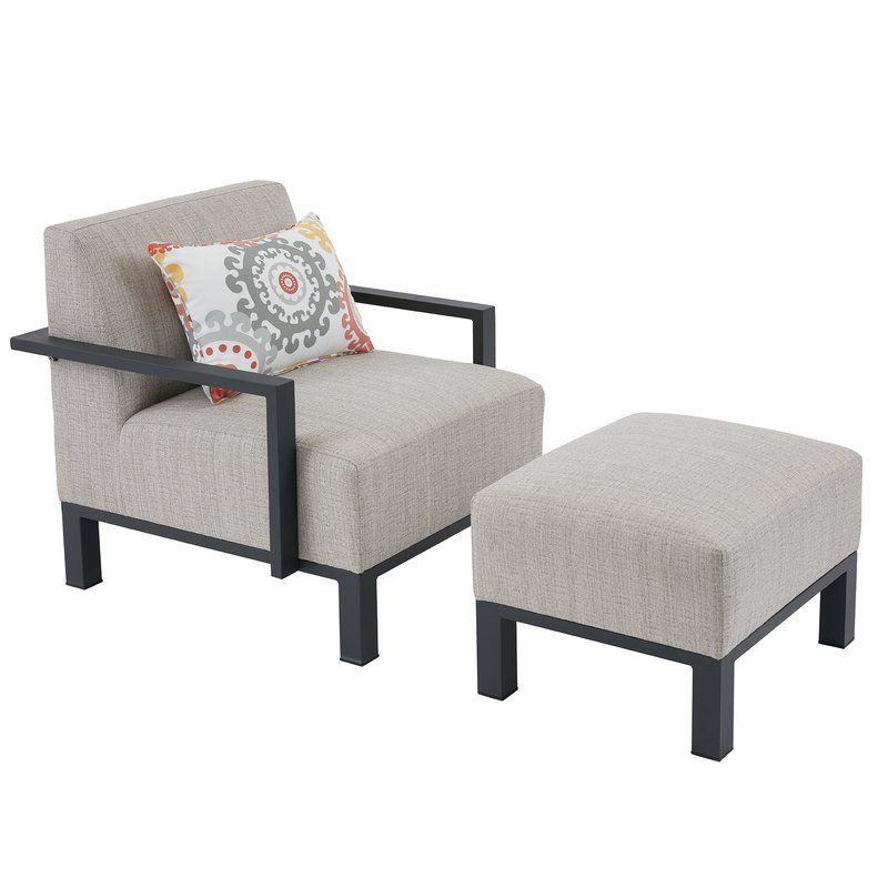 Imala Patio Chair With Cushions