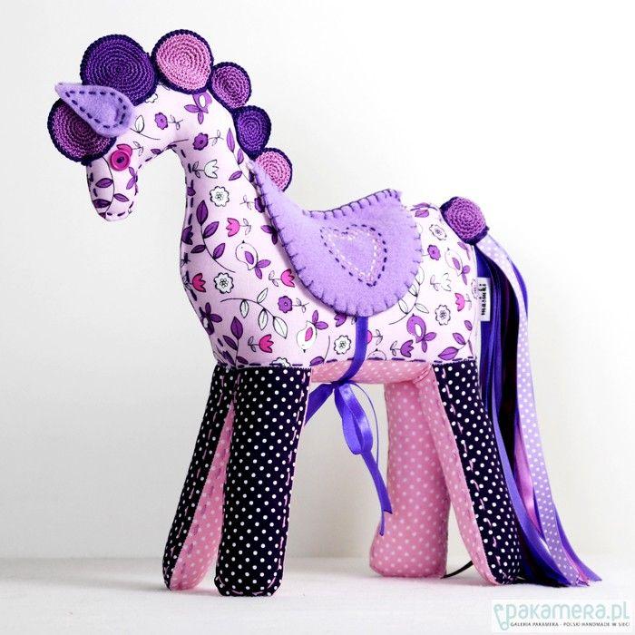zabawki - inne-Konik Lilianna Różowa Kropeczka