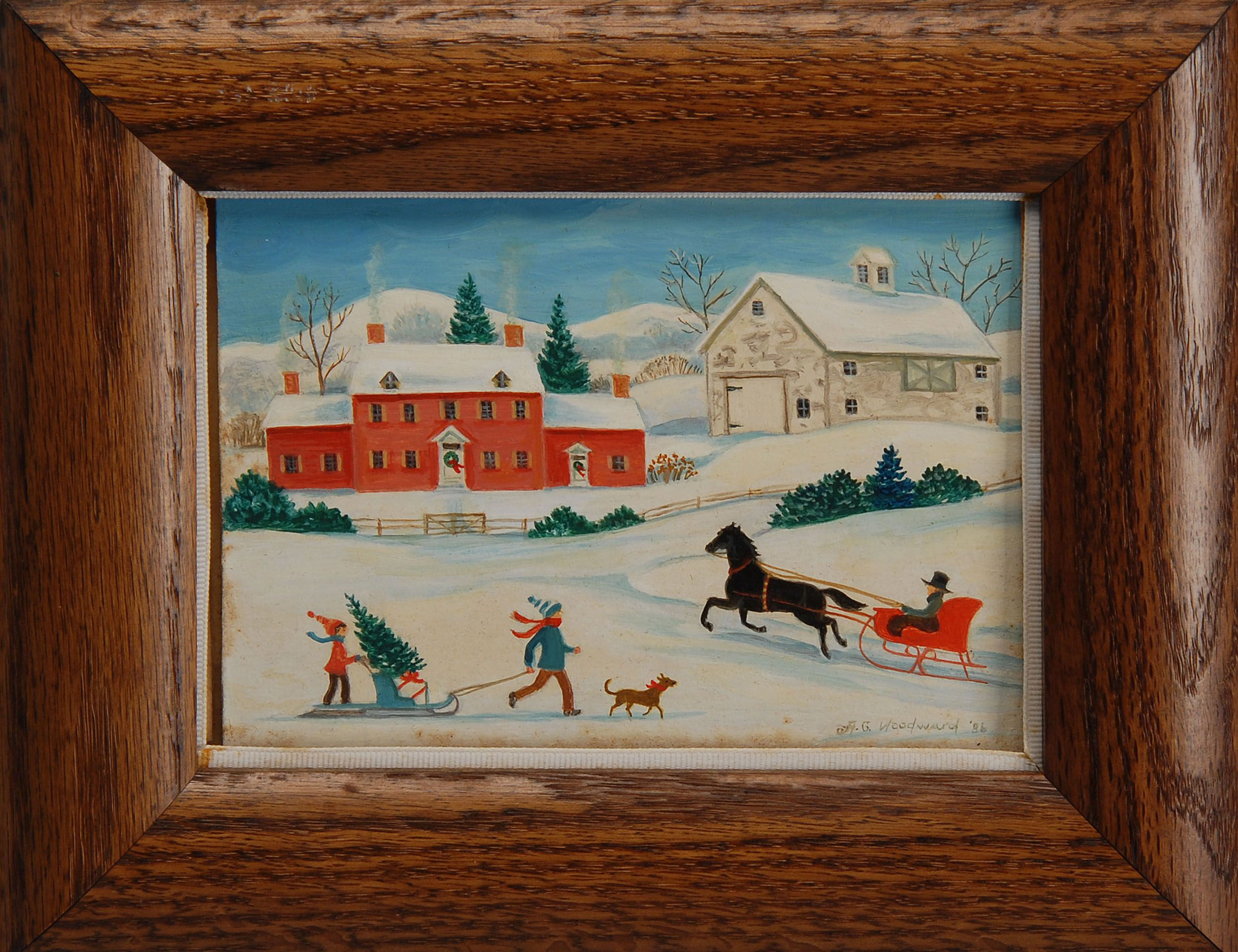 Paintings at Auction - Antiques and Accessories at Eldred's Auction House