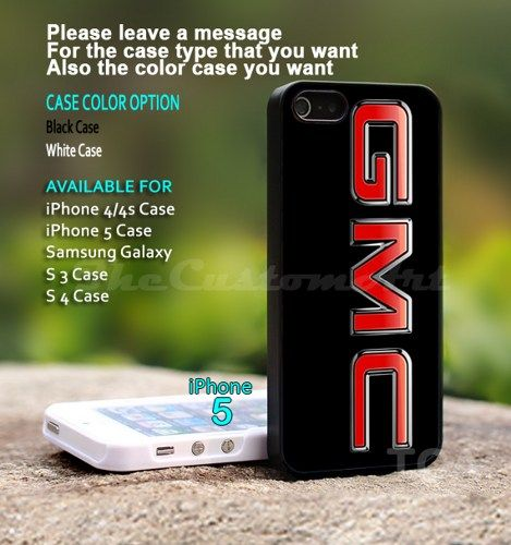 New Gmc Truck Logo For Iphone 5 Black Case Cover Thecustomart