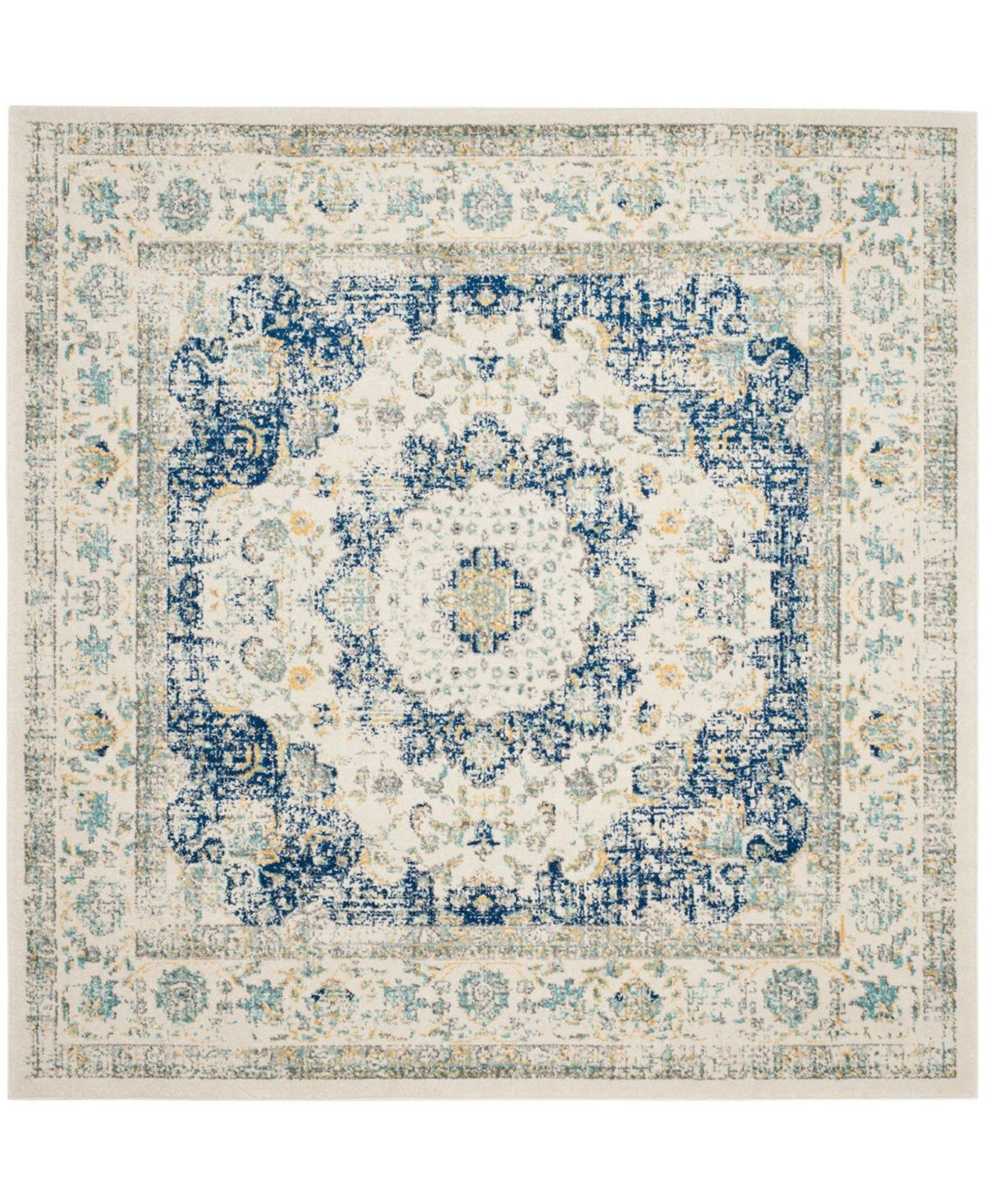 Safavieh Evoke Ivory And Blue 9 X