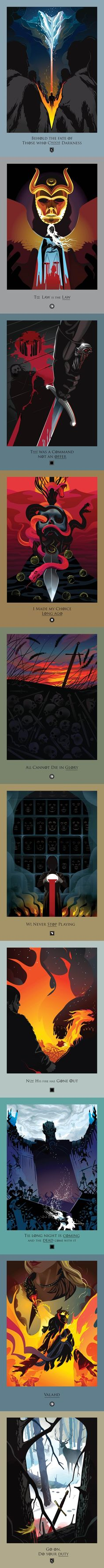 Beautiful deaths: Game of Thrones: Season 5 Chapters: 1-10 by Robert M. Ball.