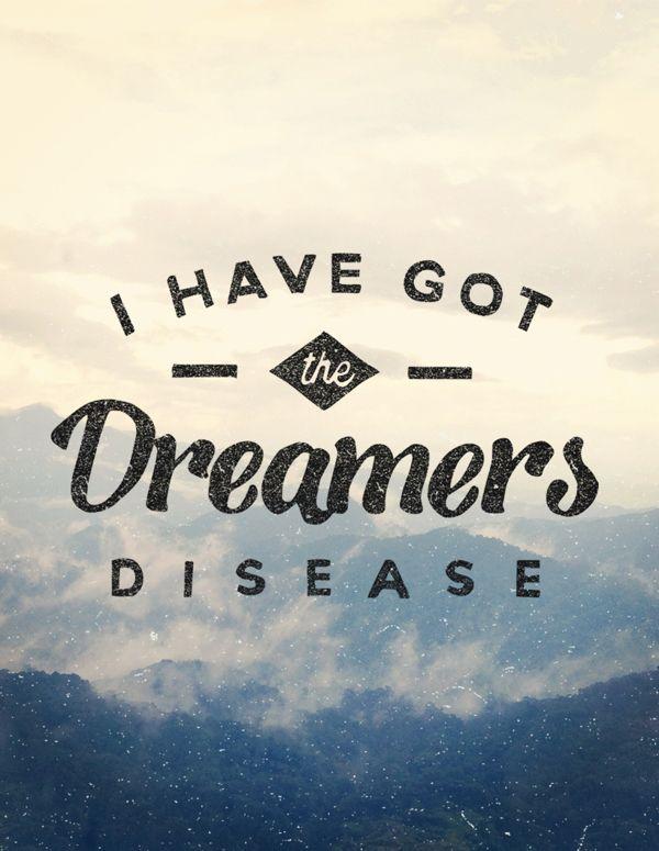 Wake up kids, we've got the dreamers disease