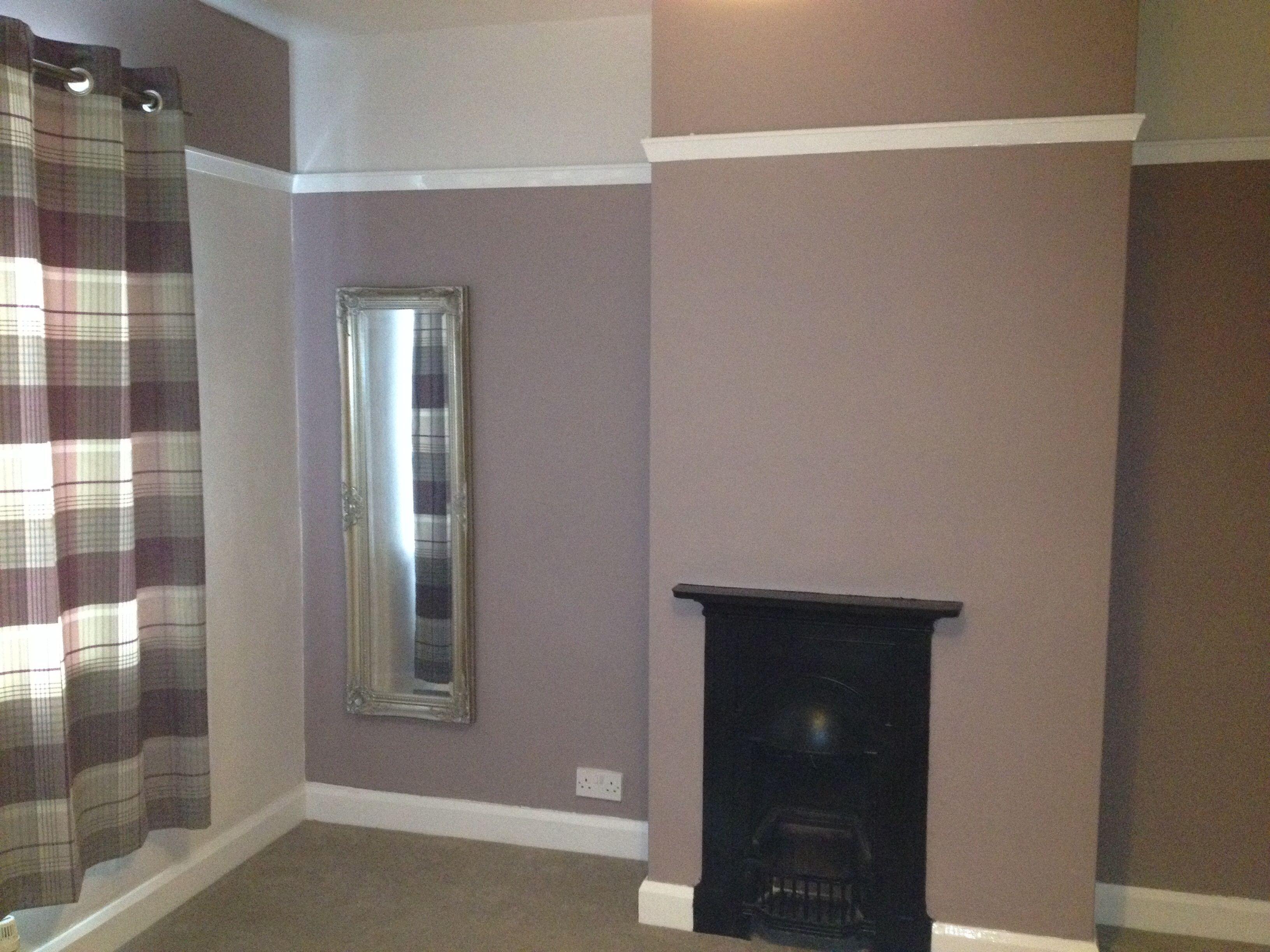 dusted damson nutmeg white new bedroom purple colors. Black Bedroom Furniture Sets. Home Design Ideas