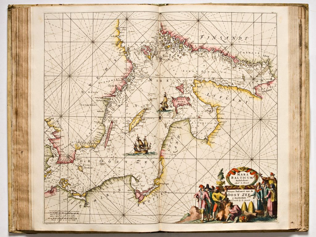 Renard Itameren Kartta John Nurmisen Saation Kokoelmat Map