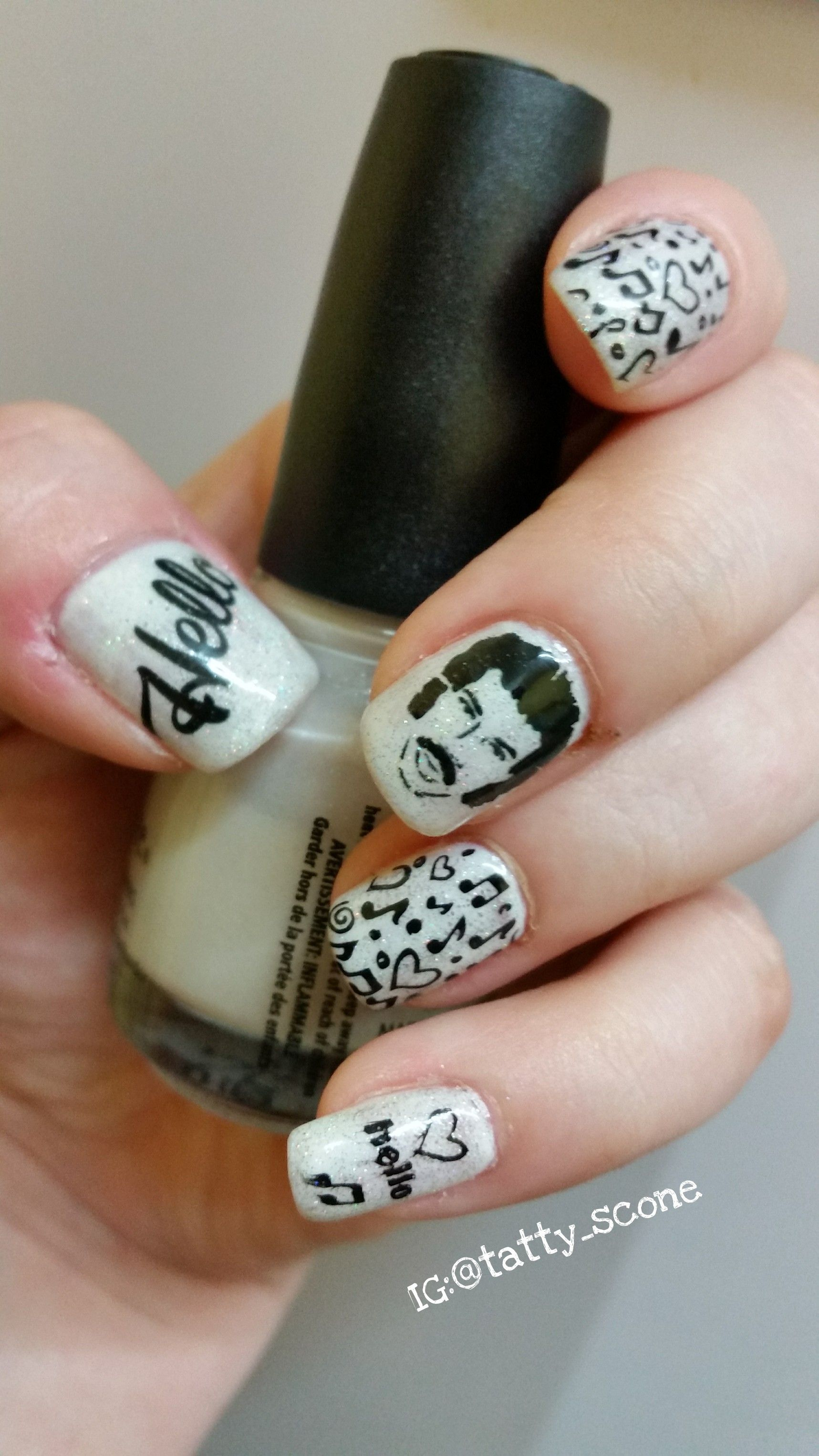 Lionel Richie tribute nail art using China Glaze polishes in Dandy ...
