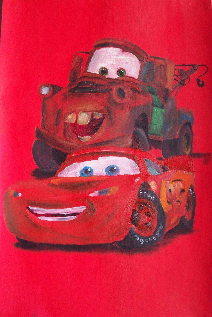 Lightning McQueen & Mater | The World of Cars | Pinterest ...