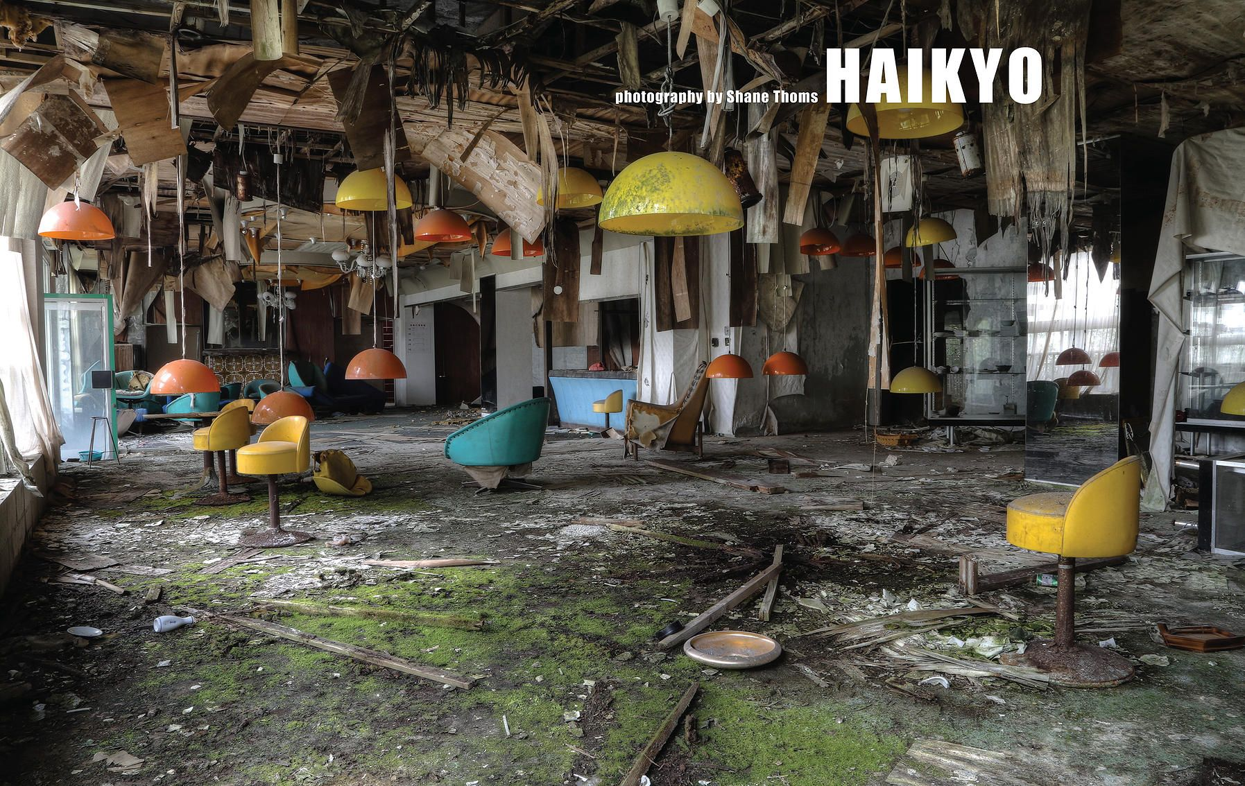 Shane Thoms Haikyo Frayed Abandoned