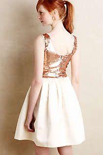 Anthropologie - Addie Sequin Dress