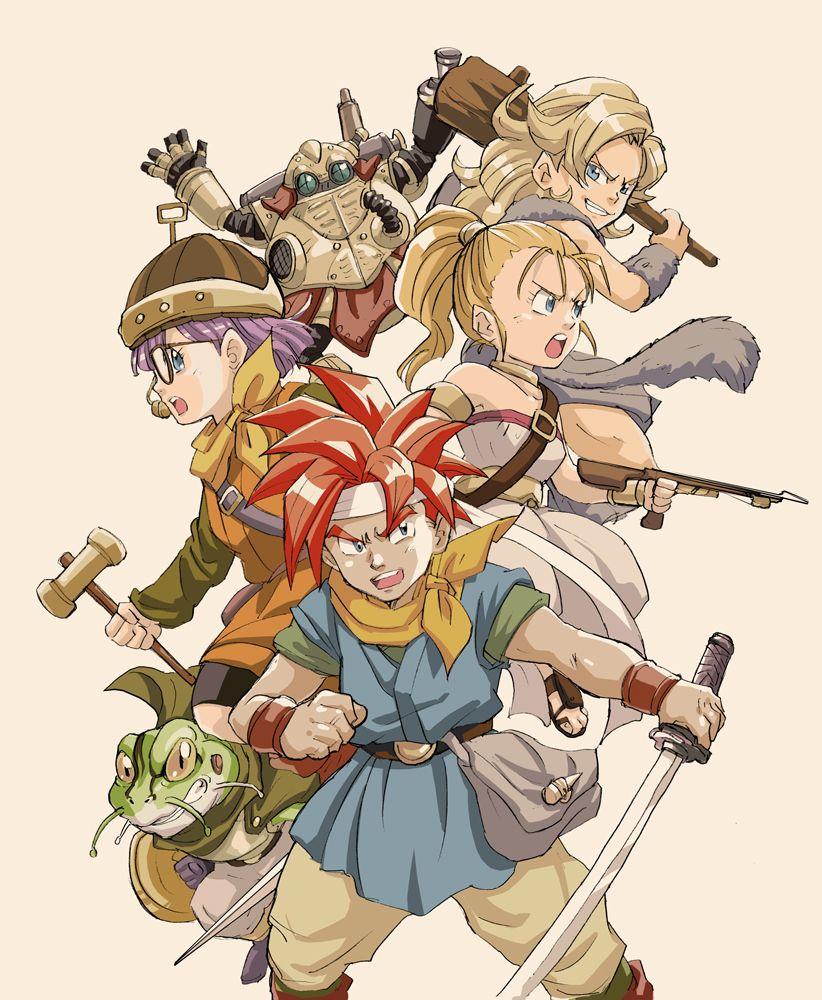 Chrono Trigger By Mappy557 On Deviantart Chrono Trigger Chrono Anime