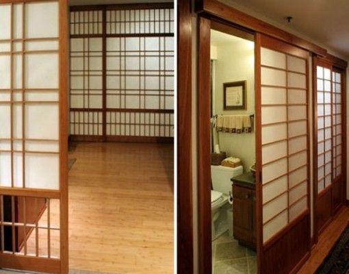 Puertas corredizas de estilo japones inspiraci n para el for Puertas japonesas