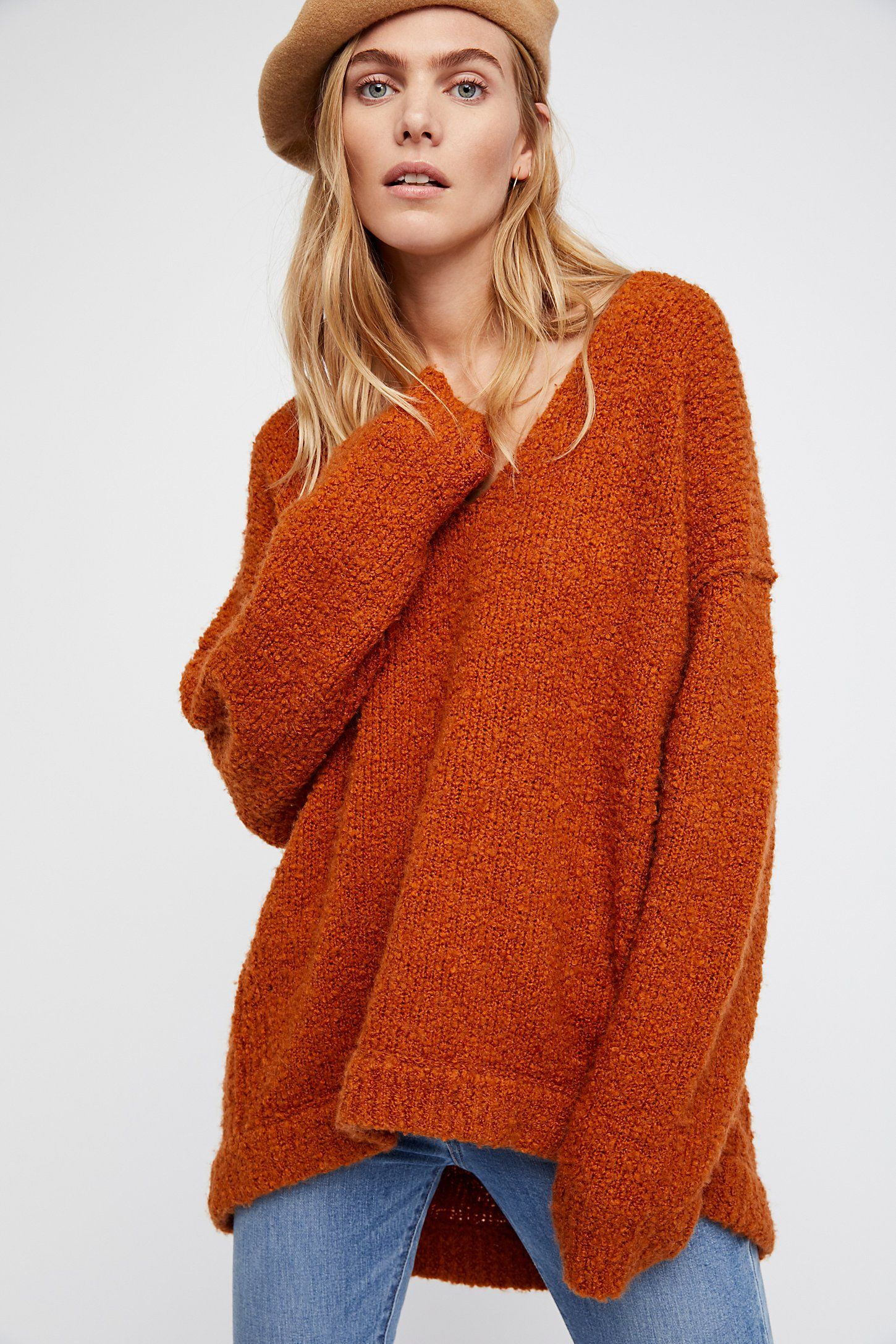 Lofty V Neck Sweater Hat Love Ropa Ropa De Invierno Invierno