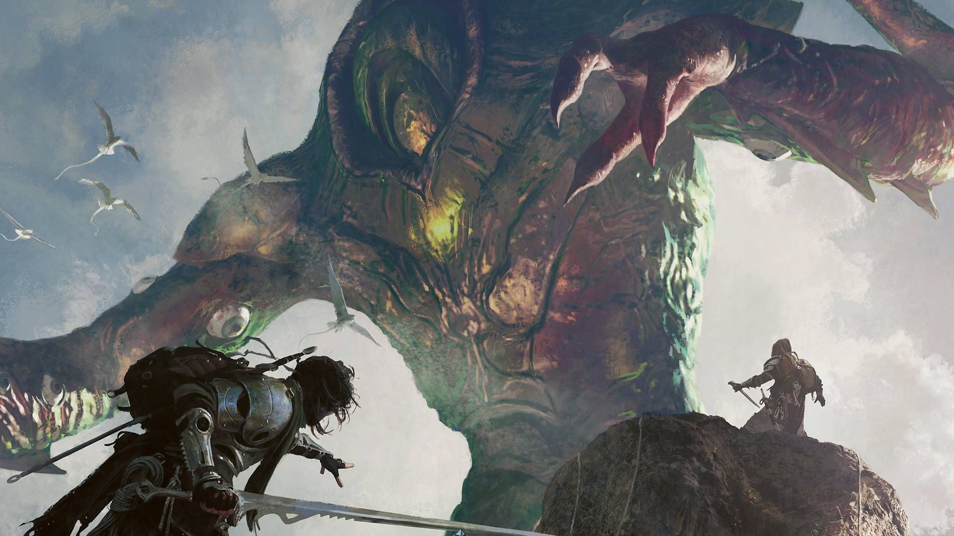Giant Monster Wallpaper Part 4 Album On Imgur Fantasy Background Warriors Wallpaper Fantasy Images