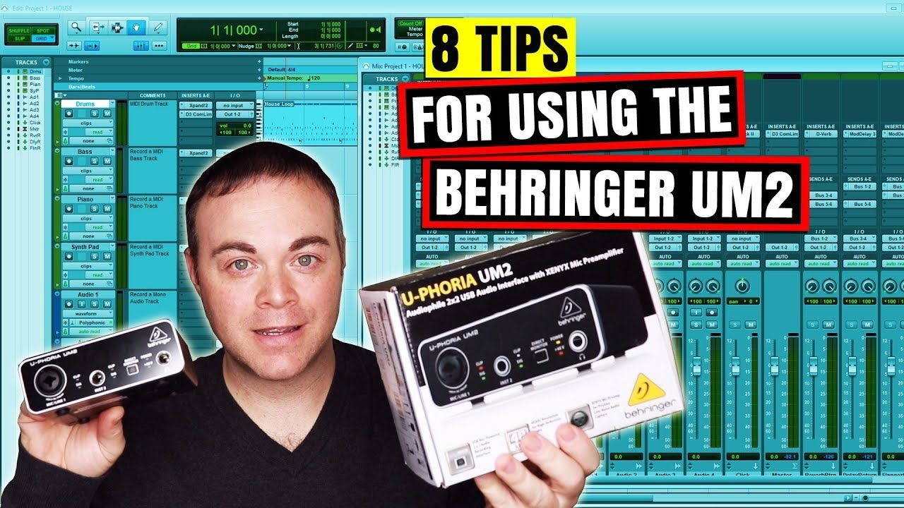8 Tips For Using The Behringer Um2 Audio Interface In Your Home
