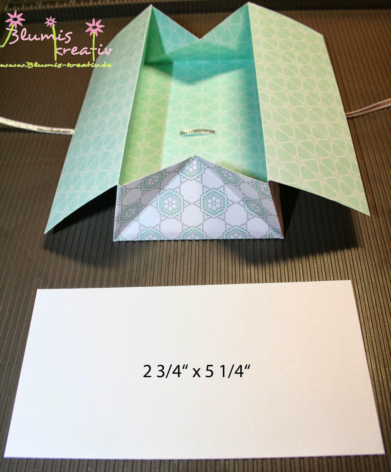 blumis kreativ blog box karte anleitung buchbinde zeit karten box und karten basteln. Black Bedroom Furniture Sets. Home Design Ideas