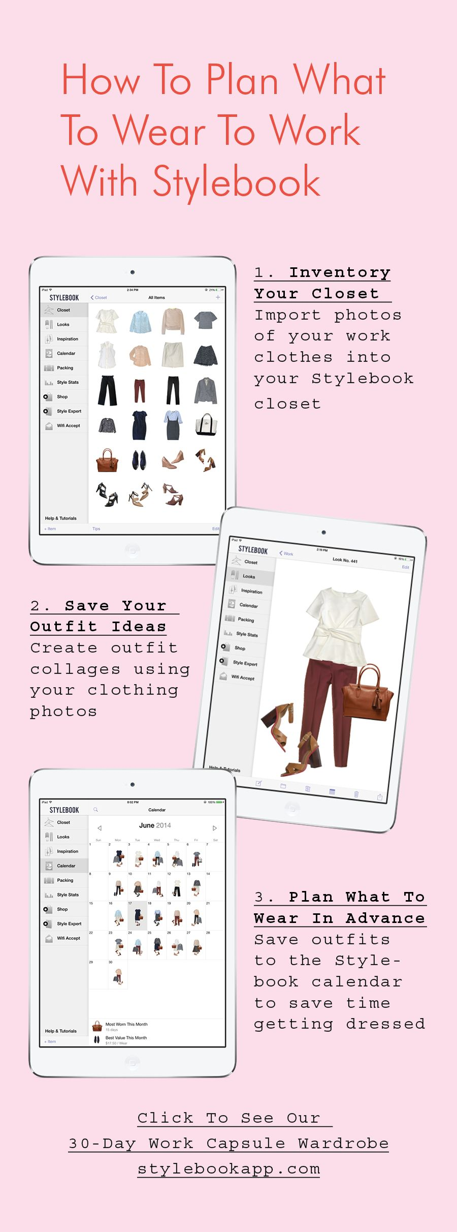 0780a9f57 How to plan your weekly outfits with Stylebook, the closet organization app  (use photos of your real clothes!)
