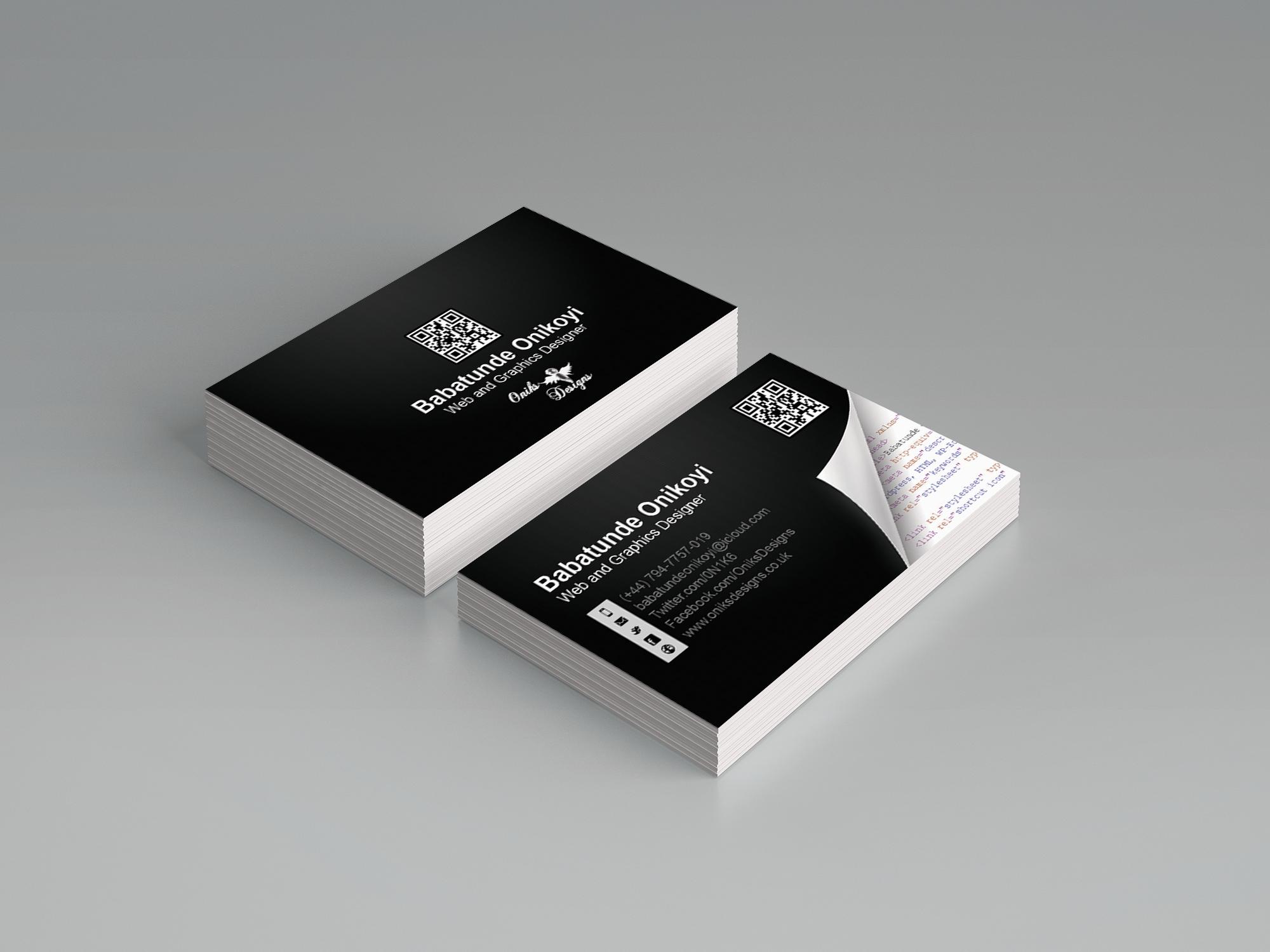 Kundenspezifische Geschäfts Karten Vorder Und Rückseite