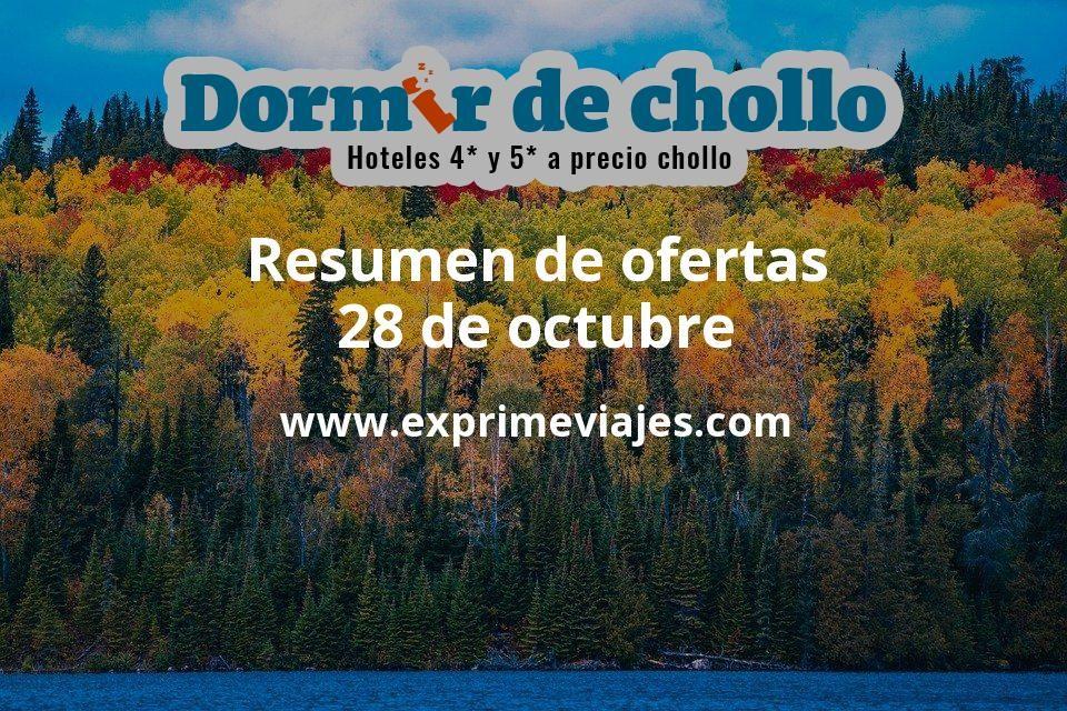 Resumen De Ofertas De Dormir De Chollo 28 De Octubre Ofertas De Vuelos Ofertas Resumen